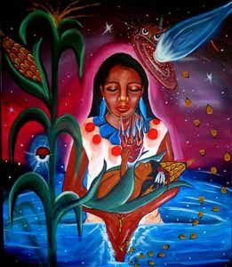 Art by Alberto Rojas of ARTE TOLTECA