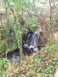 Waterfall in Connemara National Park