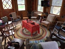 Barnette Interior, Sanctuary at Sunrise Hill