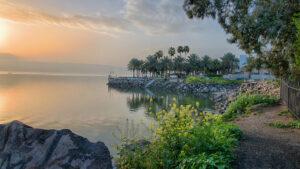 The Sea of Galilea